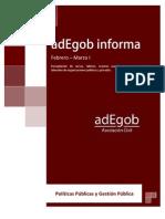 adEgob informa N. 1