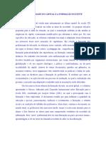 A Formação Dos Professores e a Lógica Das Competências (1)