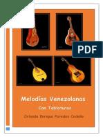 Melodias Venezolanas Con Tablaturas de Orlando Paredes