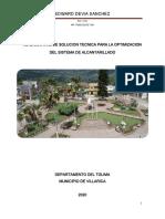 OPTIMIZACION REDES ALCANTARILLADO VILLARICA 2020