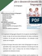 (5) Aquisição e desenvolvimento da linguagem (Mousinho)