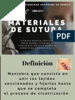 MATERIAL DE SUTURA