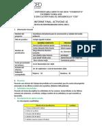Informe Final Practica - Act 16 Aula (2) 2020