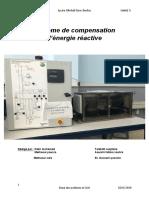 Système de compansation d'energie reactive-1