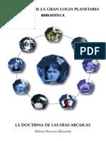 Blavatsky, Helena - La Doctrina de las Eras Arcaicas