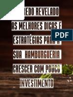 EBOOK DICAS PARA A SUA HAMBURGUERIA CRESCER COM POUCO INVESTIMENTO ATUALIZADO 2020