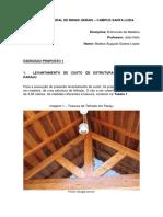 Trabalho de Estruturas de Madeira