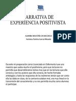 EXPERIENCIA POSITIVISTA