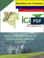 Evaluación Encuestas de Bioseguridad Granjas Avicolas