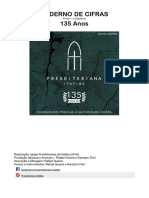 IPB Itatiba - CD 135 Anos - Cifras