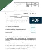 FICHA DE SINTOMATOLOGIA COVID - 19 ICALEN SRL