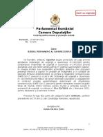 Proiectului de Lege privind aprobarea Ordonanţei de urgenţă a Guvernului nr.182/2020 pentru completarea Ordonanţei de urgenţă a Guvernului nr.147/2020 privind acordarea unor zile libere pentru părinţi în vederea supravegherii copiilor, în situaţia limitării sau suspendării activităţilor didactice care presupun prezenţa efectivă a copiilor în unităţile de învăţământ şi în unităţile de educaţie timpurie antepreşcolară