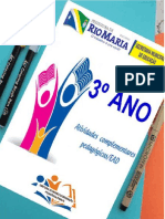 ATIVIDADE COMPLEMENTAR 3º ANO 2020