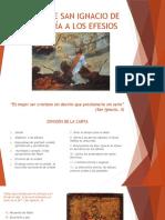 DIAPOSITIVAS CARTA DE SAN IGNACIO DE ANTIOQUÍA A LOS EFESIOS