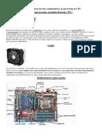 Taller de Informàtica - Elementos de Computadora