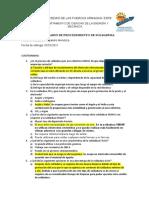 Cuestionario tipos de soldadura Mendoza S.