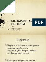 Silogisme Entimem
