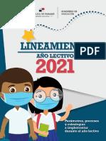 Lineamientos 2021