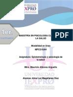 EV. 1 Analisis de Dos Lecturas, Psicologia de La Salud PDF