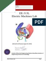 Electric Machines Lab Manual (2020)