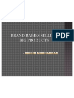Brand Babies Selling Products for Adults