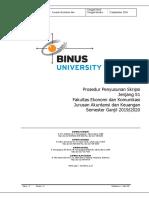 Semester Ganjil 2019-Bol-prosedur Penyusunan Skripsi Jurusan Akuntansi