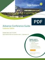 Sage Summit 2011 Customer Guide