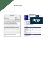 Formatos de Descripcion y Analisis de Cargo
