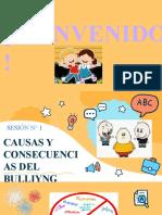 Sesión 2  Causas y Consecuencias del bullying
