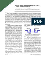 vibration transmission of hard disk spindle