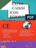 Textos Academicos REPORTE