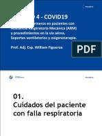cuidados del paciente con falla respiratoria