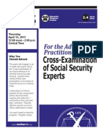 MoBarCLE Cross-Examination of Social Security Experts