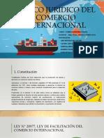 MARCO REGULATORIO JURIDICO DEL COMERCIO INTERNACIONAL PERUANO