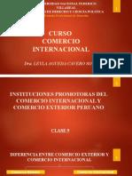 CLASE 9 Instituciones promotoras del comercio internacional y comercio exterior peruano