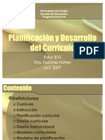 PlanificaciondelCurriculo