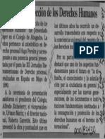 Reseña Protección Derechos Humanos Pereira