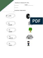 lembaran kerja kemahiran 11 perkataan kv kvk