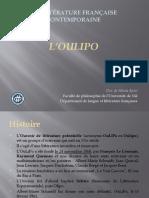L'Oulipo - Predavanje