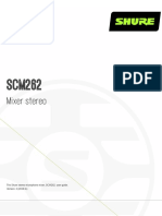 SHURE Mixer SCM262_guide_it-IT