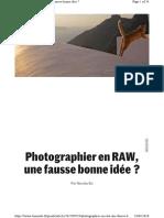 developpement photo raw vs jpeg