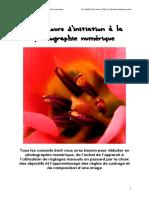 Cours Dintiation La Photographie Numrique