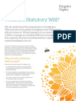 Why Should You Make a Will - Kingsley Napley