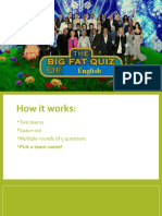 the big fat quiz b1