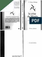 (situations et perspectives) Fabien Eboussi Boulaga - La crise du muntu_ Authenticité africaine et philosophie-Presénce Africaine (2013 (1977))