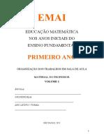 2021 - MATEMÁTICA - 1° ANO - CADERNO PROF