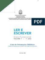 2021 - PORTUGUES - 1° ANO - CADERNO DO PROF