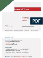 Balanced Trees