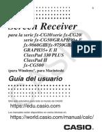 Screen Receiver ES