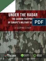 EU Military Sectors Carbon Footprint